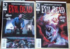 The Evil Dead Official Movie Adaptation Horror Comic 4 Issue Lot Sam Raimi