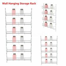 2-6 Tiers Kitchen Spice Rack Holder Cabinet Organizer Wall Mount Storage Shelf