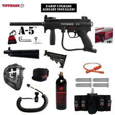 Tippmann A-5 Selector Switch E-Grip Elite Remote CO2 Paintball Gun Package