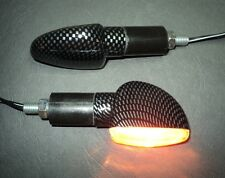 ►4 HALOGEN CARON  MINI BLINKER KAWASAKI ER650,ZX7R,KMX 200,Z700,750 Turbo,VIGOR►