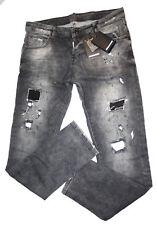 Dsquared2 Neu Jeans Neu Grau Slim Gr.52