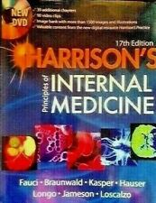 HARRISON'S PRINCIPLES OF INTERNAL MEDICINE - 17th EDITION -  McGRAW HILL (2008)-