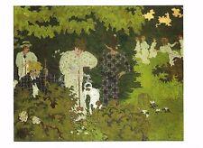 Postcard Pierre Bonnard Twilight, The Croquet Game Musee d' Orsay Paris MINT