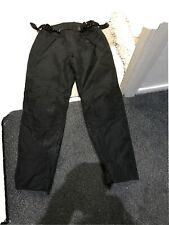 """AKITO PIRANHA WATERPROOF TEXTILE MOTORCYCLE TROUSERS THERMAL LINER SIZE M 34/"""""""