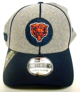NEW ERA 39Thirty Chicago Bears Established 1920 NFL Football Hat Cap Med L XL