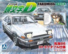 Aoshima Initial D Takumi Fujiwara Toyota trueno AE86