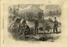 1869 Experiments With The Claxton Grapeshot Gun