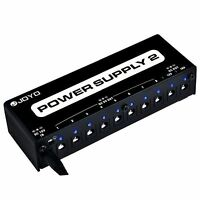 JOYO JP-02 10 Guitar Effect Pedal Multi Isolated Output Power Supply PSU