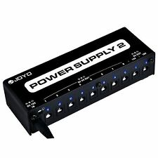 JOYO JP-02 10 Guitar Effect Pedal Multi Isolated Output Power Supply PSU