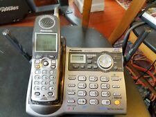Panasonic Kx-Tg5571 Cordless Phone Answering System Base & Handset