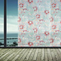 Static Cling Frosted Stained Self Adhesive Window Privacy Decorative Glass Film