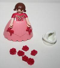 PLAYMOBIL 4165 ENFANT FILLE MARIAGE PRINCESSE PANIER BLANC / PRINCESS WEDDING