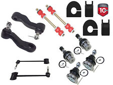 "14PC Front Sway Bar Link Ball Joint Pitman Idler Kit Chevrolet GMC 1 1/8"" BAR"
