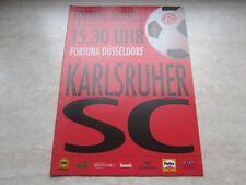 Prg 92/93 Fortuna Düsseldorf - Karlsruher SC DFB Pokal