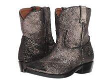 NEW FRYE Women's Billy Short Boot Gold Brushed Metallic Size 8.5 B