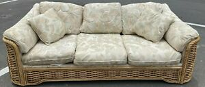 5 Piece Set Basset Vintage Wicker / Rattan Patio Furniture