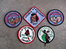 vintage 1965 1969 BSA Patch lot Centinela WWW OA Callout California