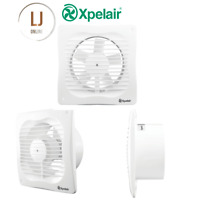 """Xpelair VX100 4"""" 100mm Toilet Bathroom Shower WC Extractor Fan Standard 93224AW"""
