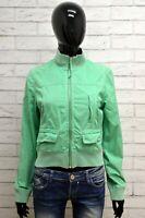 Giubbino TOMMY HILFIGER Donna Taglia Size S Giubbotto Giacca Jacket Woman Verde