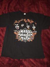 KISS Alive 35 Tour 2009  Size Large Black T-Shirt