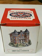 The Americana Collection Liberty Falls Courthouse N Scale Accessory Setup Nib
