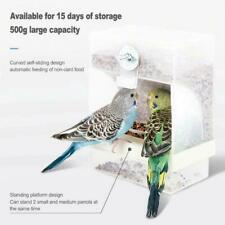 Bird Poultry Feeder Automatic Acrylic Food Container Pigeon Proof Parrot Sp U4S0