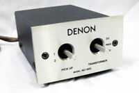 AU-320 Step Up Transformer DENON MC Moving Coil Phono Cartridge Used Good F/S