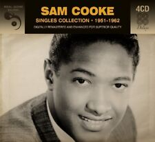 SAM COOKE - SINGLES COLLECTION 1951-1962  4 CD NEUF