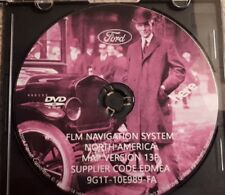 NEW 2006 2007 2008 2009 Ford Lincoln Mercury Navigation DVD 2015 Map Update 13P