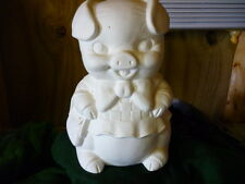 Ready to Paint Ceramic Ms.Piggy Bank