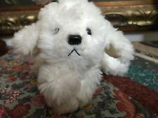 "Russ Berrie MUFFIN JR Bichon Frise Puppy Dog 6"" Tush Tags Handmade Item 4239"
