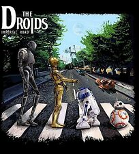 STAR WARS THE DROIDS FUNNY CUSTOM ART OLDSKOOL FULL FRONT Shirt *MANY OPTIONS*