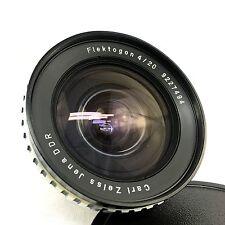 """Carl Zeiss Jena Flektogon 20mm F4 Exakta Mount """"Zebra"""""""