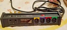 Monster Power HTS-1000 Home Theatre Power Center made in USA, 8 foot long cord!