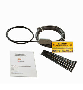 TRACE HEATING FROST PROTECTION CABLE 1 - 25 METER INCLUDING STAT