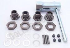 Kyosho Inferno MP9e TKI * 17mm WHEEL HUBS, NUTS, PINS & WRENCH * Shims TKI3 TKI2