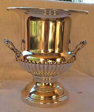 Seau à champagne forme Médicis en métal argenté FLEURON