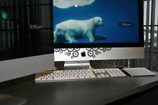 "iMac Screen Decal ""Gears"" - Stickers for iMac 21.5"", 24"", and 27"" Desktops"