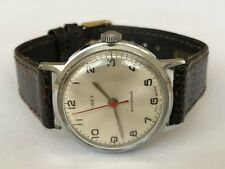 Vintage Gents Timex Military Marlin Mechanical Hand Wind men GB 1968 Wrist watch