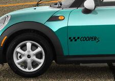 Mini cooper s car sticker decal adhesive decor jdm stripes