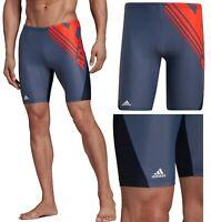 "Adidas Swim Colour Block Men's Swimming Jammers - RRP£40 - 32"" 36"" & 38"""