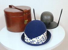 WOW BLU 50er anni damenhut Lustrini in valigia Cappello-costumi HELLA di più Amburgo