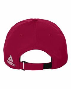 ADIDAS - Adjustable GOLF HAT, NEW Men's Poly Performance Relaxed Baseball Cap
