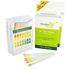 2 x 100 Stück SimplexHealth pH Teststreifen Urin & Speichel | pH Indikator