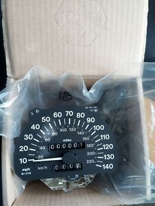 Opel Calibra Vectra A Speedometer Mile/h Km/h With Trip Odometer 90507535 GM