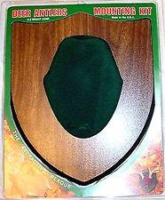 E-Z Mount Walnut, Green Cap Deer Antler Mounting Kit #58