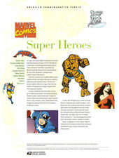 #793 41c Super Heros #4159a-t USPS Commemorative Stamp Panel