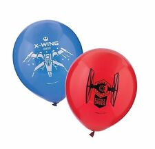 Star Wars EP Vll Latex Balloons ( 6 Pack) - Party Supplies
