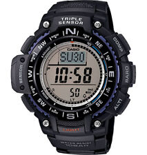 Casio SGW1000-1A, Compass, Thermometer, Altimeter, 5 Alarms, World Time, Chrono