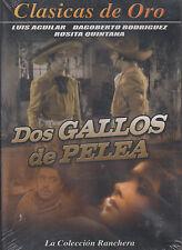 DVD - Dos Gallos De Pelea NEW Clasicas De Oro Luis Aguilar FAST SHIPPING !